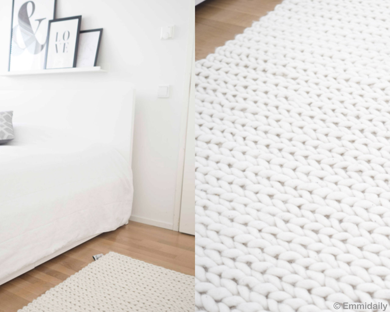 wooden floor fresh big white braided felt ball room area rugs