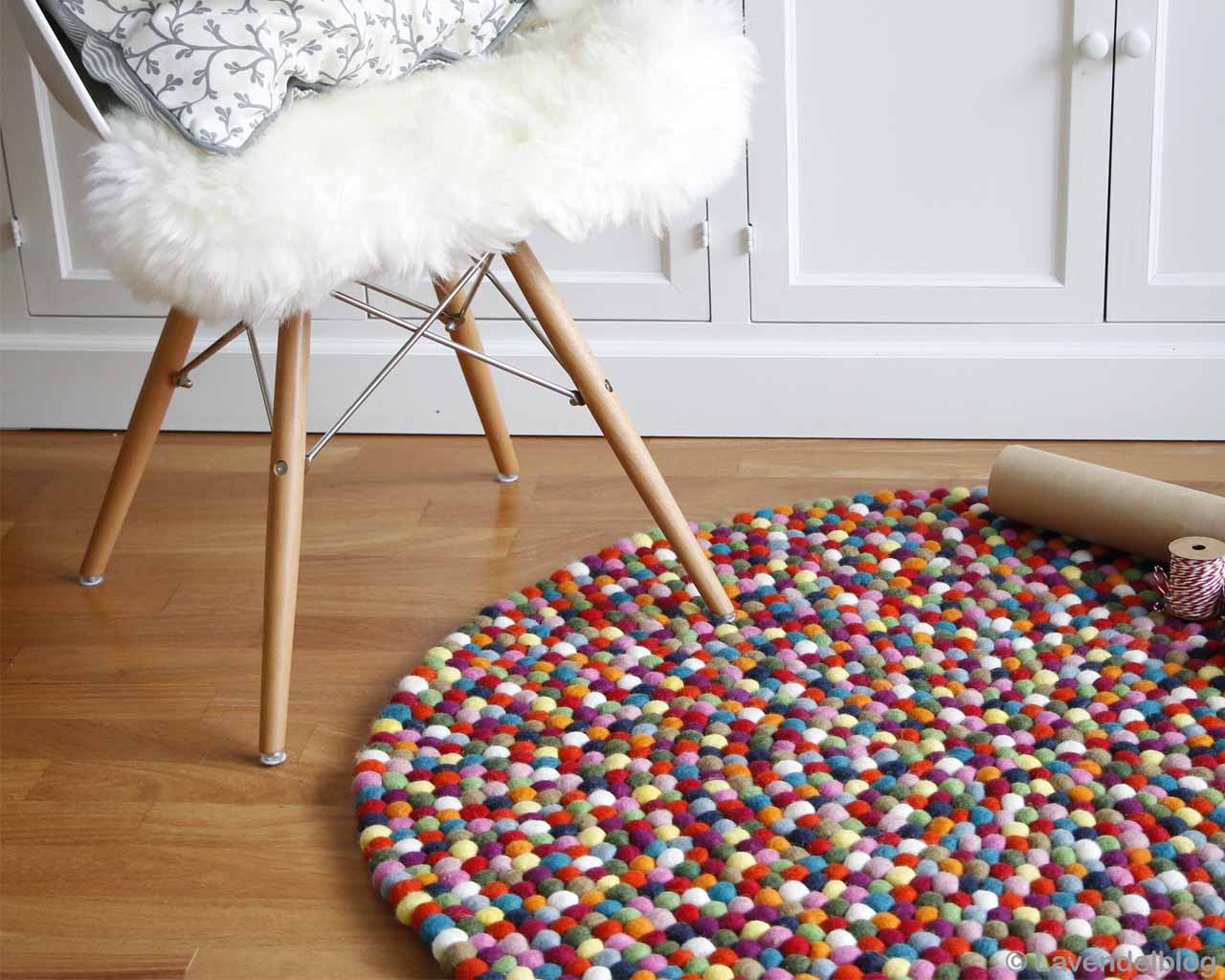 woolen chair with fluffy cushion nepal designer multi color kids rugs
