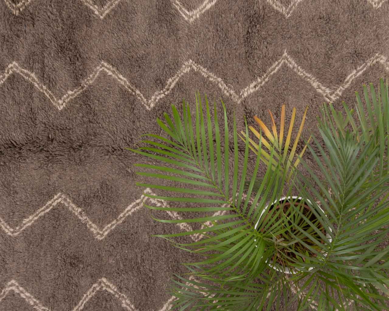 green plant grey berber carpet soft texture 1