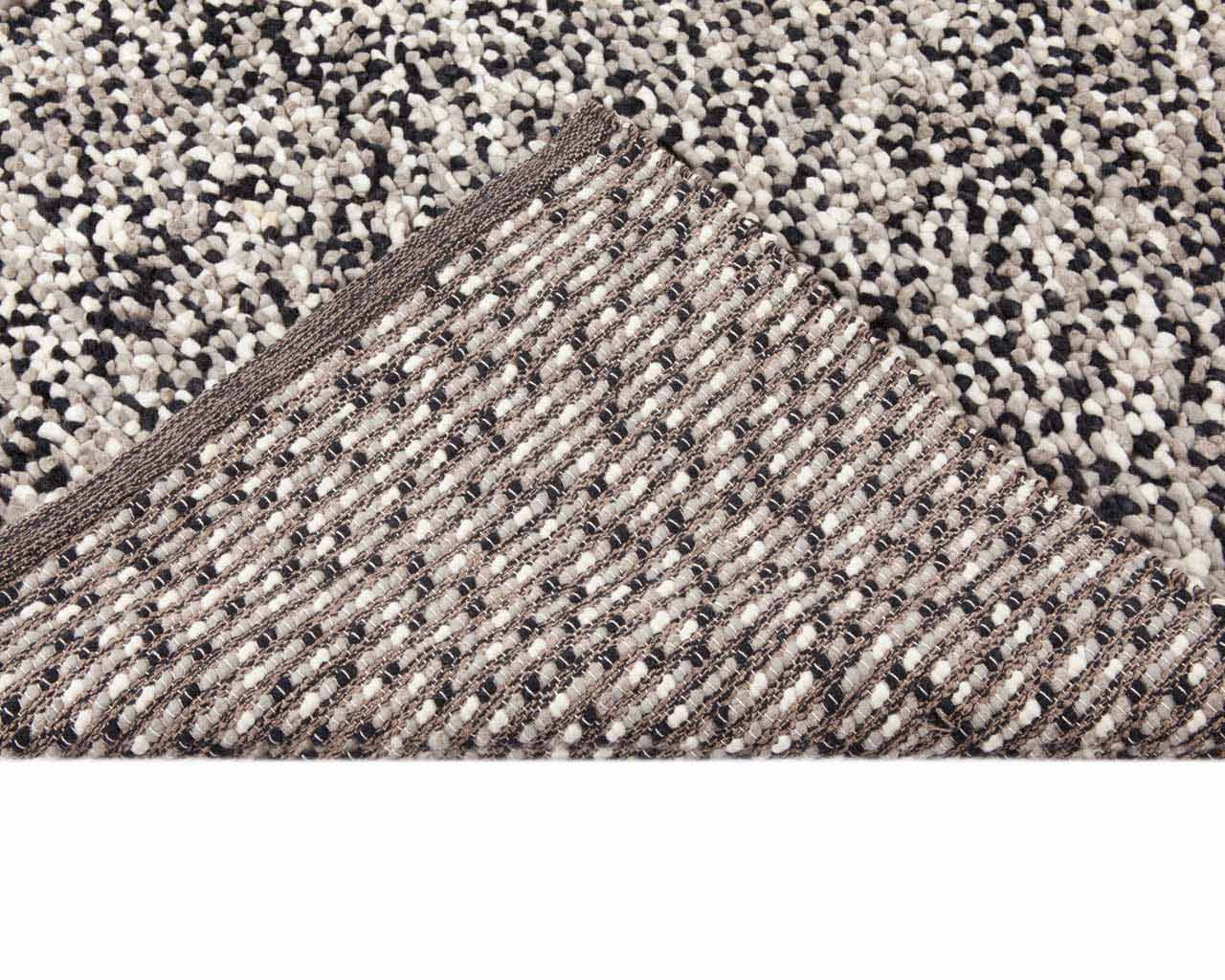 rectangular carpet felted yarn rugs grey
