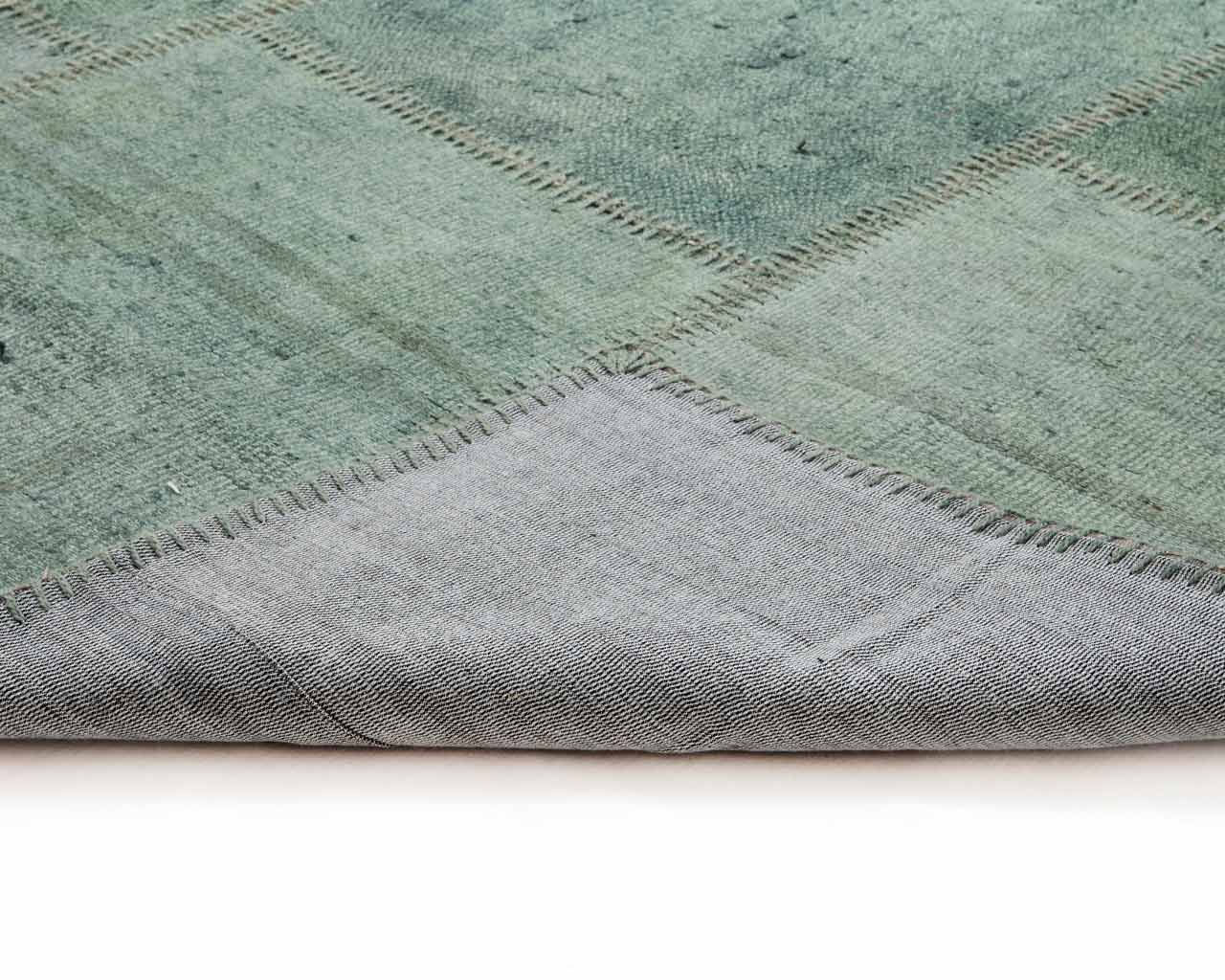 hemp grass rugs handwoven patchwork green sukhi