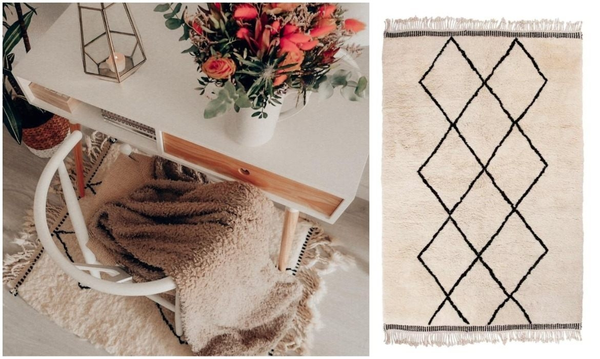 beni-ourain-rug-under-small-home-office-desk